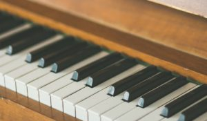 Older Piano Keys