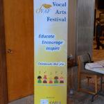 Oakville Vocal Arts Festival Banner Bug