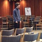 Young Man Singing